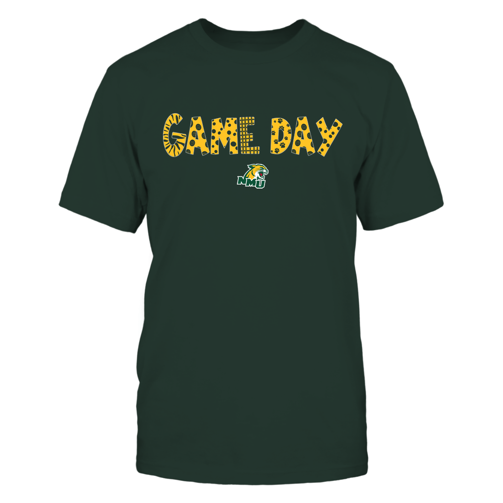 Northern Michigan Wildcats - Game Day - Doodles - Team Front picture