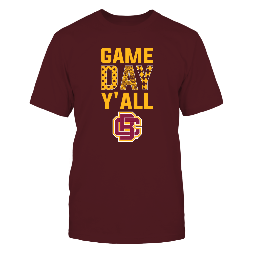 Bethune-Cookman Wildcats - Game Day Y'all - Patterned Day - Team Front picture