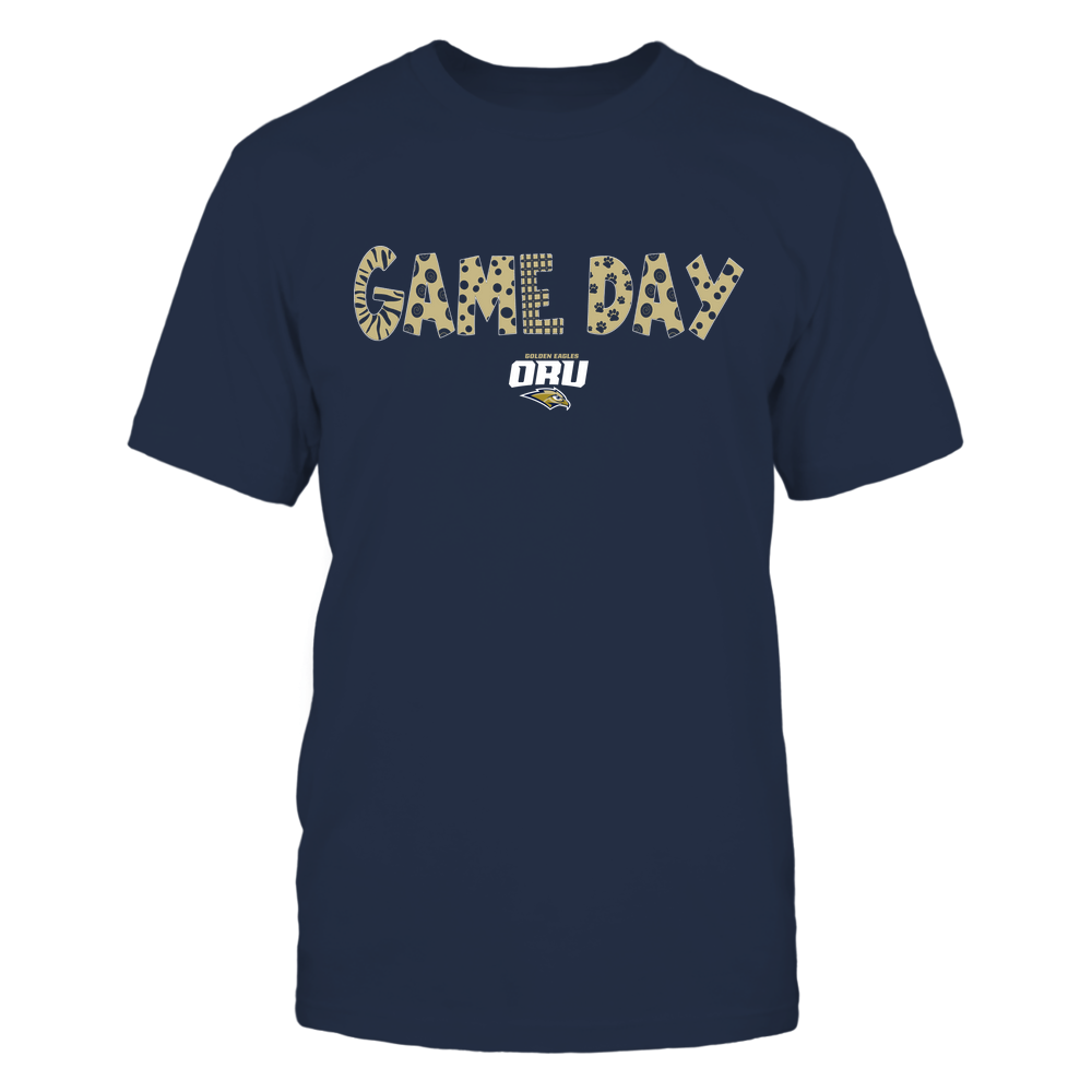 Oral Roberts Golden Eagles - Game Day - Doodles - Team Front picture