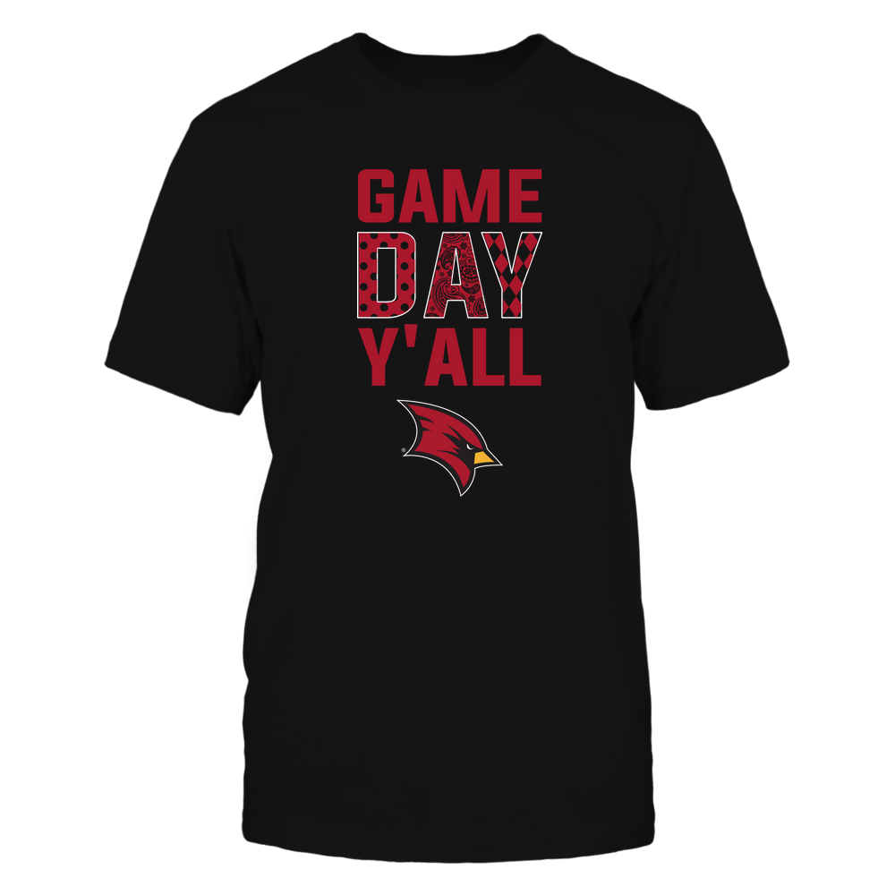 Saginaw Valley State Cardinals - Game Day Y'all - Patterned Day - Team Front picture