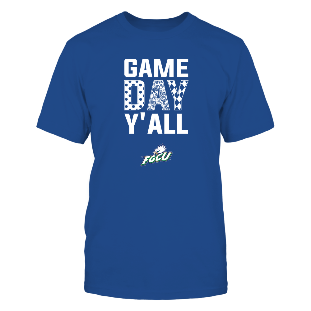 Florida Gulf Coast Eagles - Game Day Y'all - Patterned Day - Team Front picture