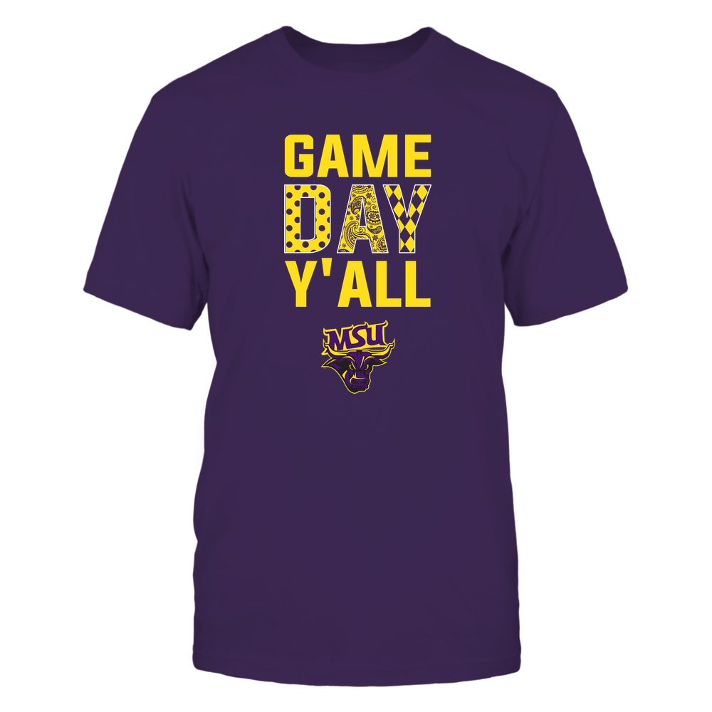 Minnesota State Mavericks - Game Day Y'all - Patterned Day - Team Front picture