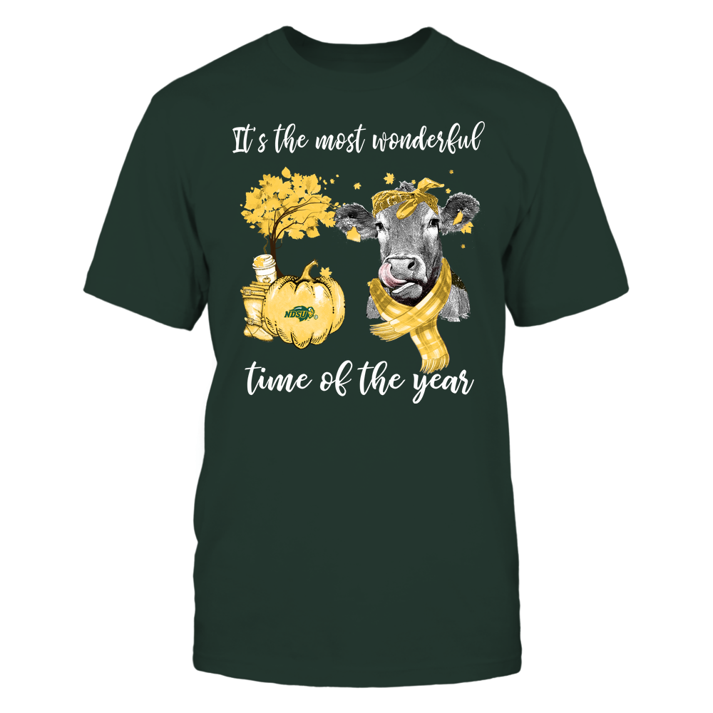 North Dakota State Bison - Fall - It's The Most Wonderful Time Of The Year - Cow Front picture