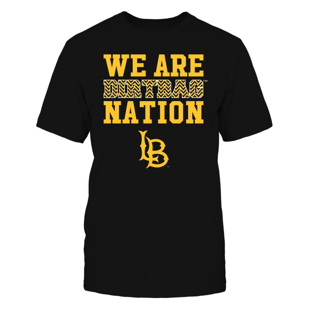 Long Beach State 49ers - We Are Nation - Team - Chevron Pattern Front picture