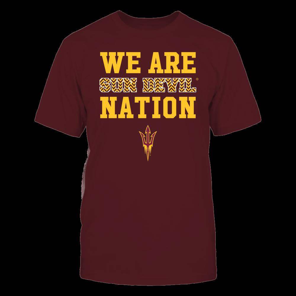 Arizona State Sun Devils - We Are Nation - Team - Chevron Pattern Front picture
