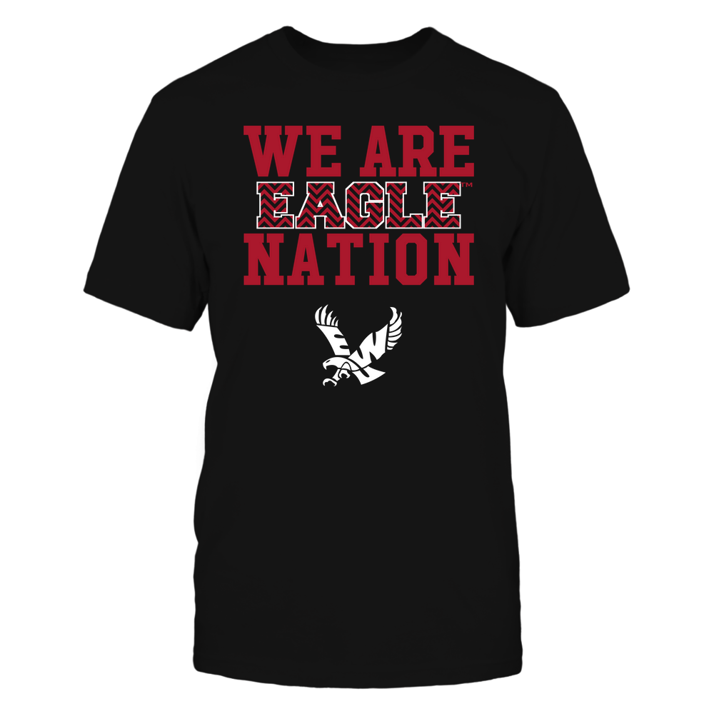 Eastern Washington Eagles - We Are Nation - Team - Chevron Pattern Front picture