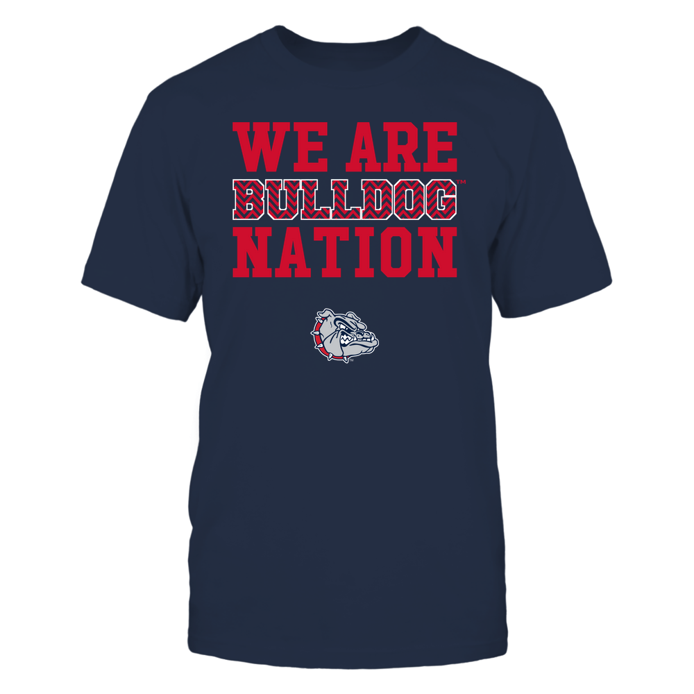 Gonzaga Bulldogs - We Are Nation - Team - Chevron Pattern Front picture