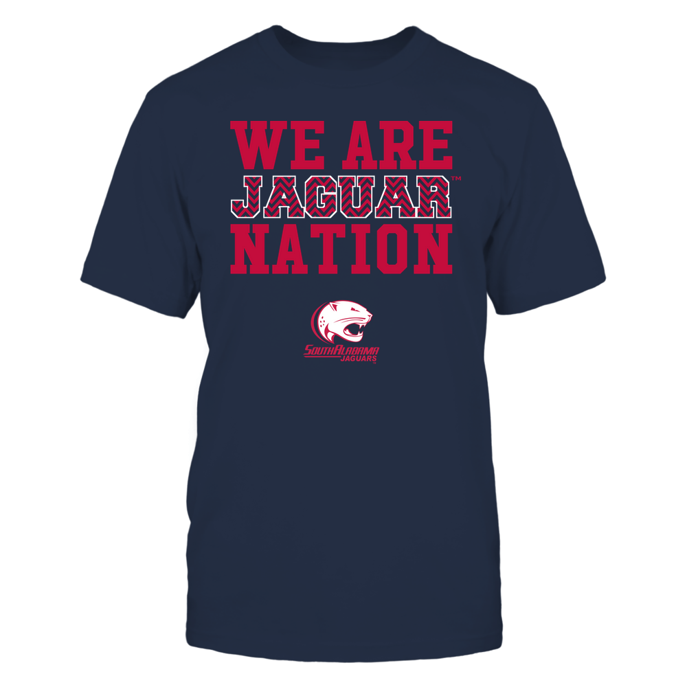 South Alabama Jaguars - We Are Nation - Team - Chevron Pattern Front picture