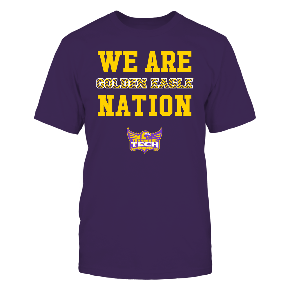 Tennessee Tech Golden Eagles - We Are Nation - Team - Chevron Pattern Front picture