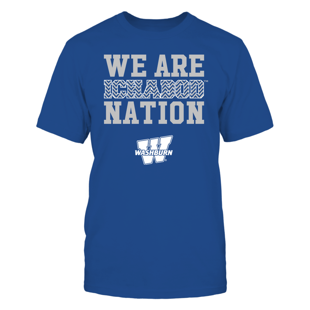 Washburn Ichabods - We Are Nation - Team - Chevron Pattern Front picture