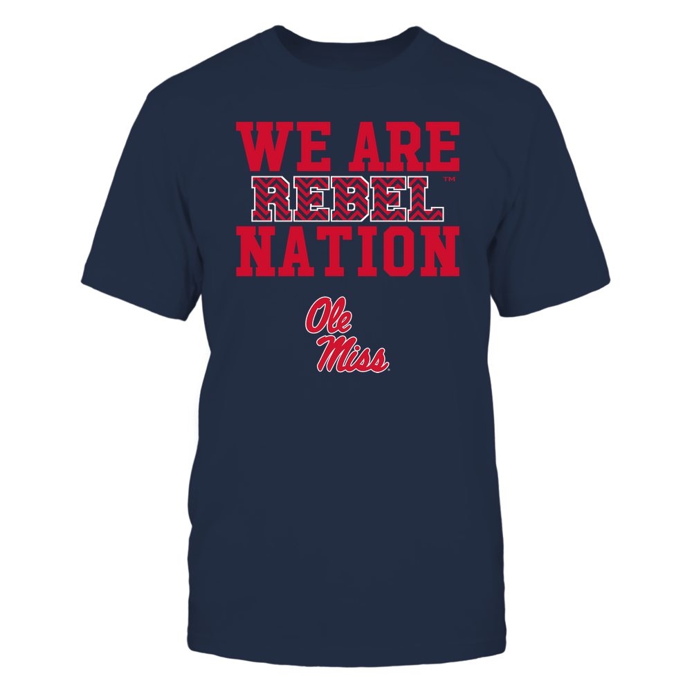 Ole Miss Rebels - We Are Nation - Team - Chevron Pattern Front picture