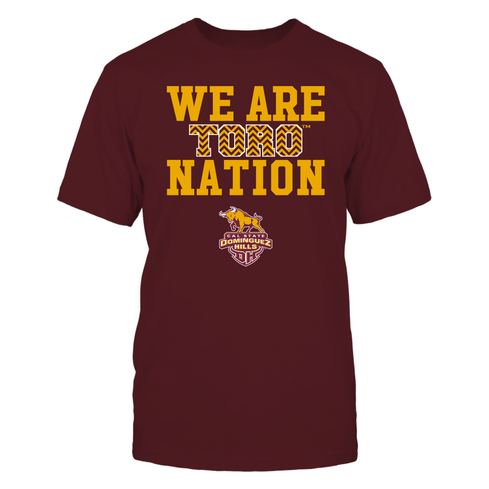 Cal State Dominguez Hills Toros - We Are Nation - Team - Chevron Pattern Front picture