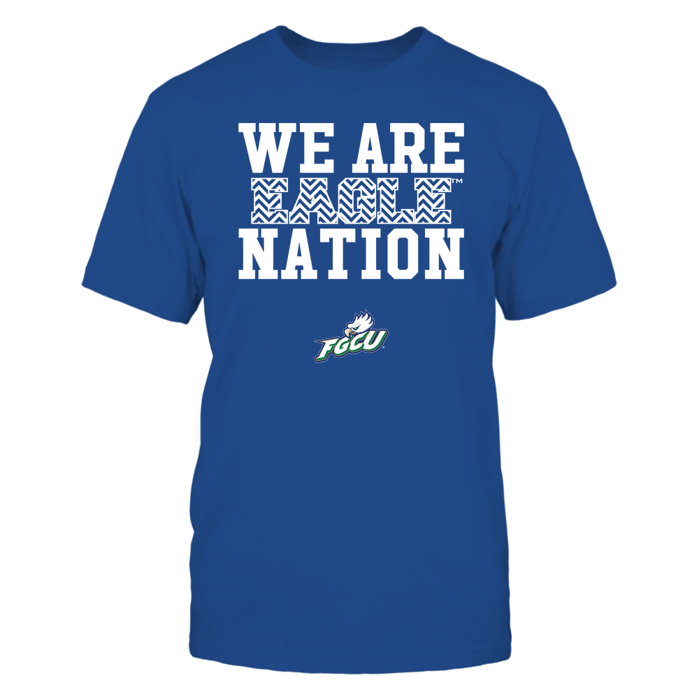 Florida Gulf Coast Eagles - We Are Nation - Team - Chevron Pattern Front picture