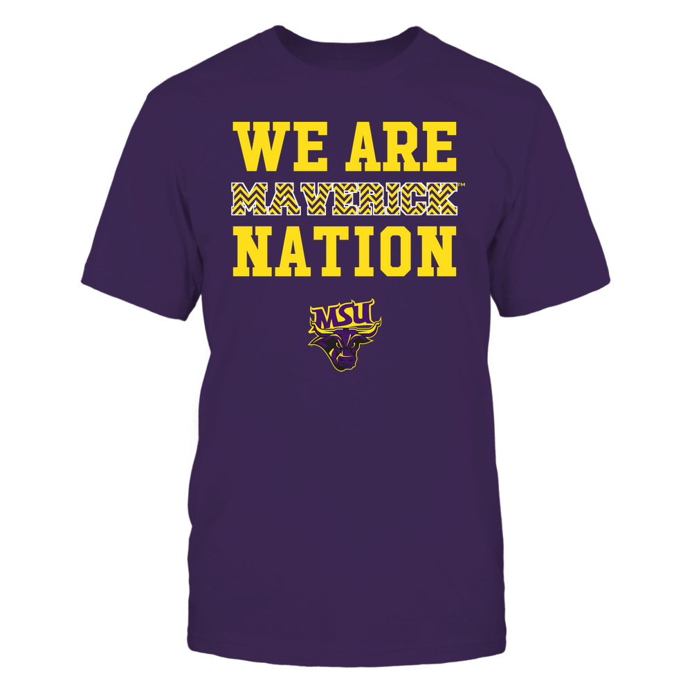 Minnesota State Mavericks - We Are Nation - Team - Chevron Pattern Front picture