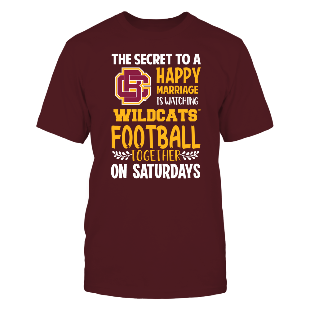 Bethune-Cookman Wildcats - Football - Secret To A Happy Marriage - Team Front picture
