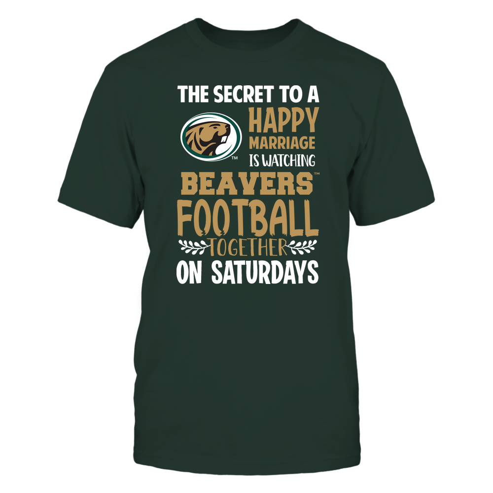 Bemidji State Beavers - Football - Secret To A Happy Marriage - Team Front picture
