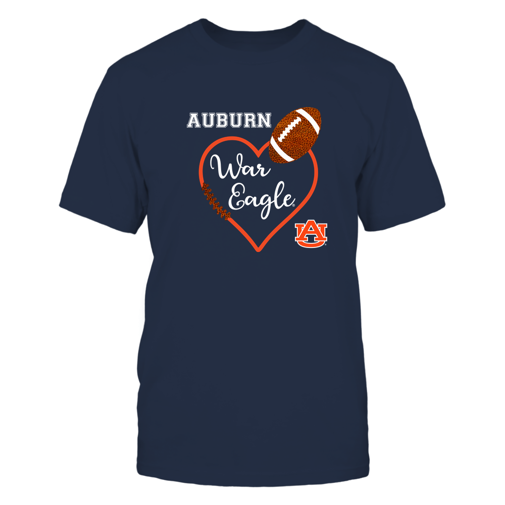 Auburn Tigers - Game Day - Football Heart - IF32-IC32-DS85 Front picture
