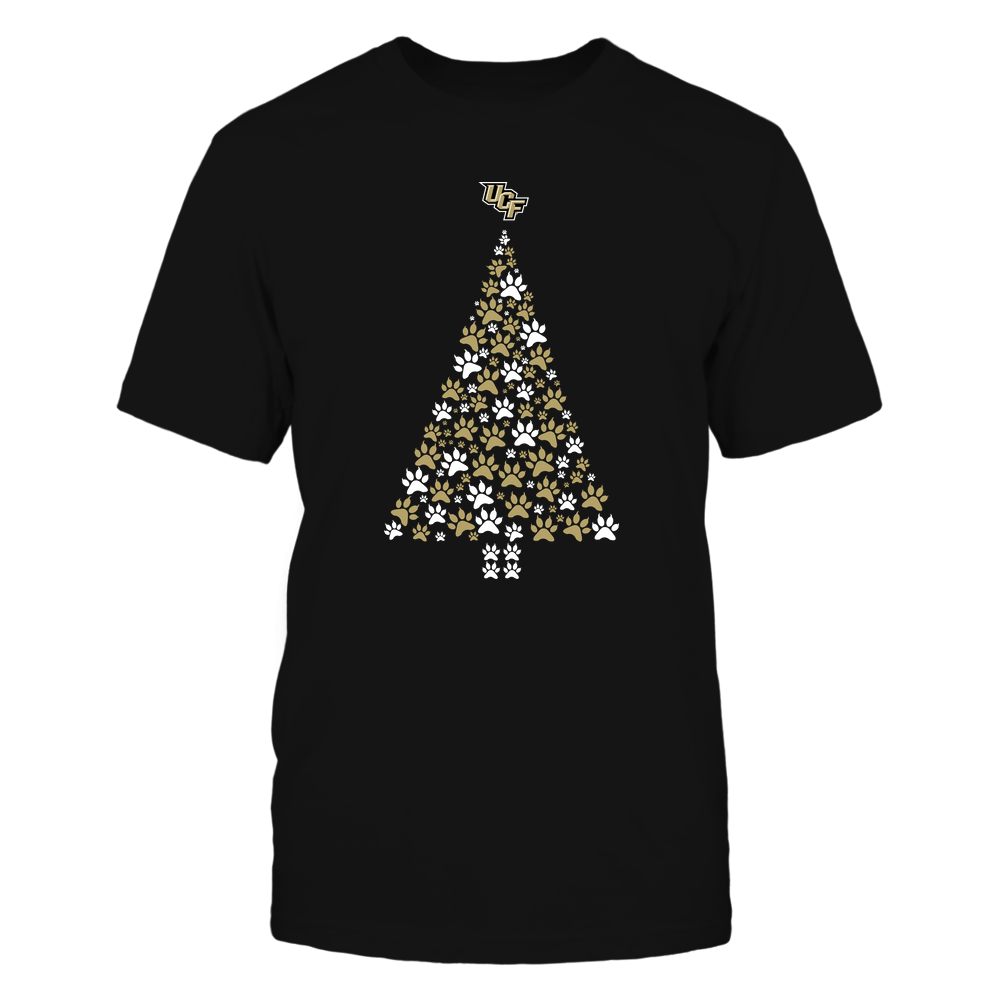 UCF Knights - Christmas - Cat Paw Christmas Tree - Team Front picture