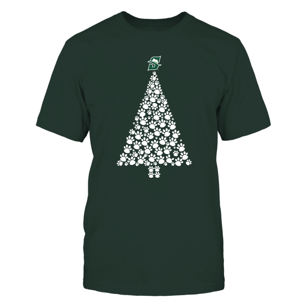 Stetson Hatters - Christmas - Dog Paw Christmas Tree - Team Front picture