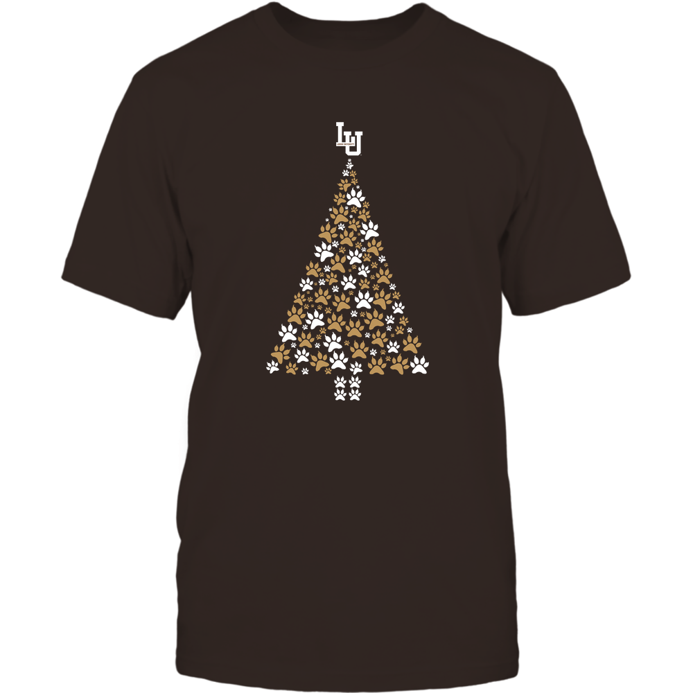 Lehigh Mountain Hawks - Christmas - Cat Paw Christmas Tree - Team Front picture