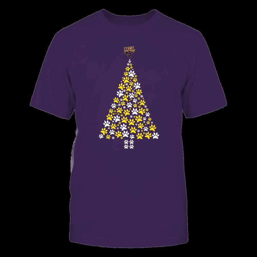 Minnesota State Mavericks - Christmas - Cat Paw Christmas Tree - Team Front picture