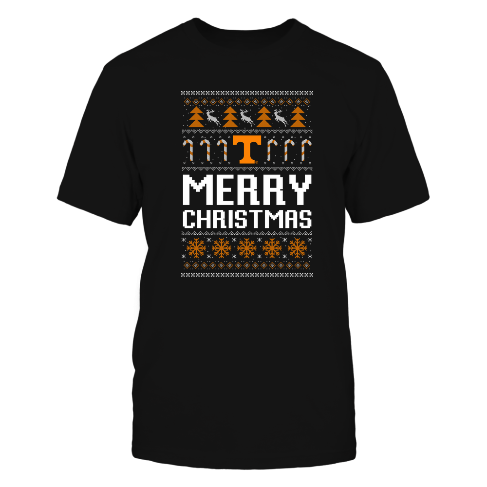 Tennessee Volunteers - Christmas - Merry Christmas Sweater - Team Front picture