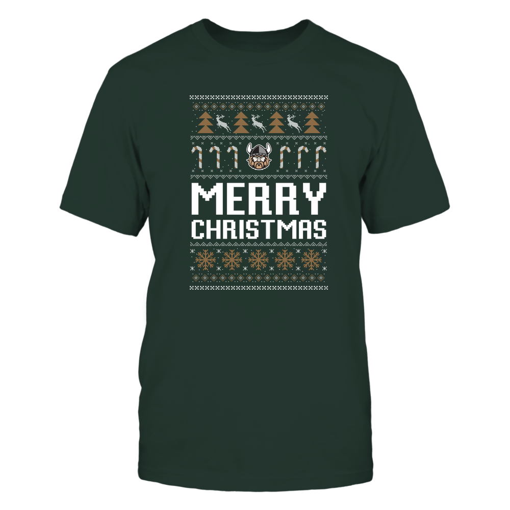 Cleveland State Vikings - Christmas - Merry Christmas Sweater - Team Front picture