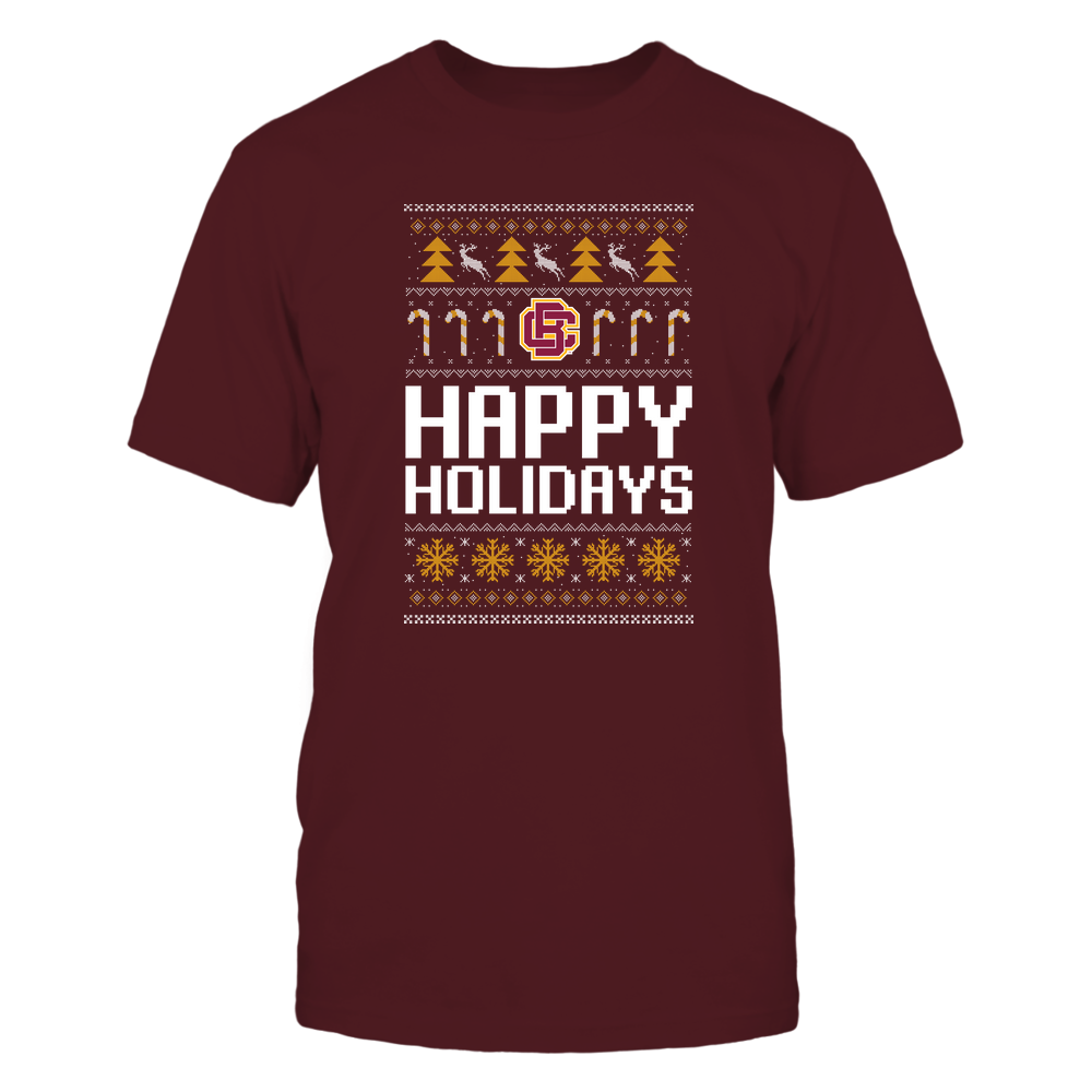 Bethune-Cookman Wildcats - Christmas - Happy Holidays Sweater - Team Front picture