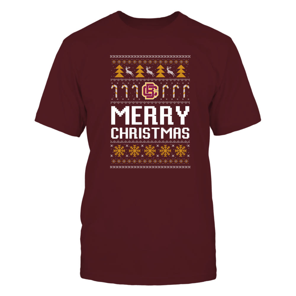 Bethune-Cookman Wildcats - Christmas - Merry Christmas Sweater - Team Front picture