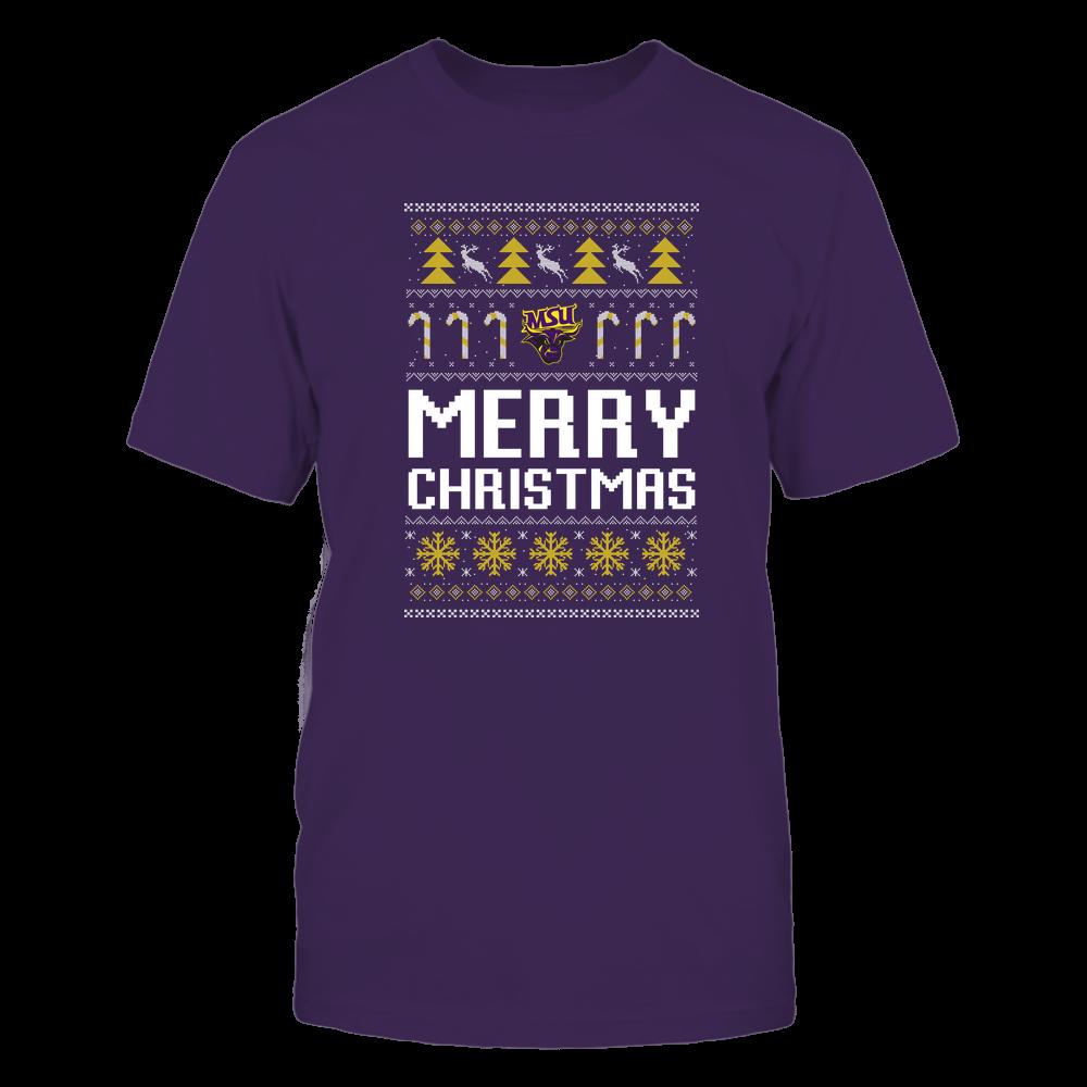 Minnesota State Mavericks - Christmas - Merry Christmas Sweater - Team Front picture
