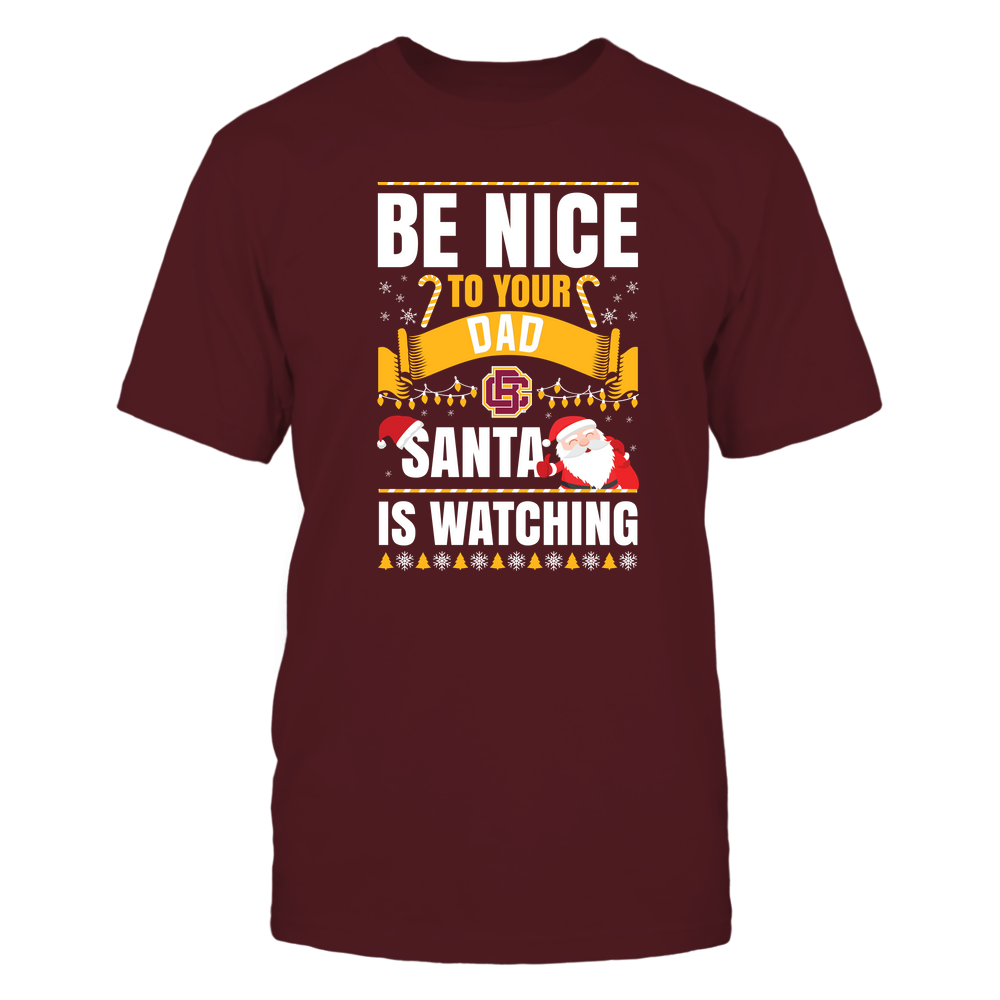 Bethune-Cookman Wildcats - Christmas - Be Nice To Your Dad - Santa Is Watching - Team Front picture