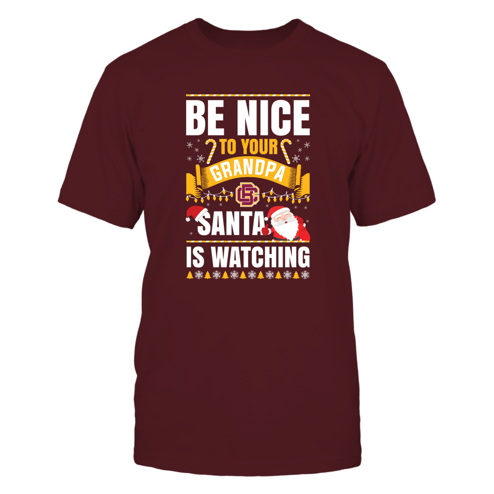 Bethune-Cookman Wildcats - Christmas - Be Nice To Your Grandpa  - Santa Is Watching - Team Front picture
