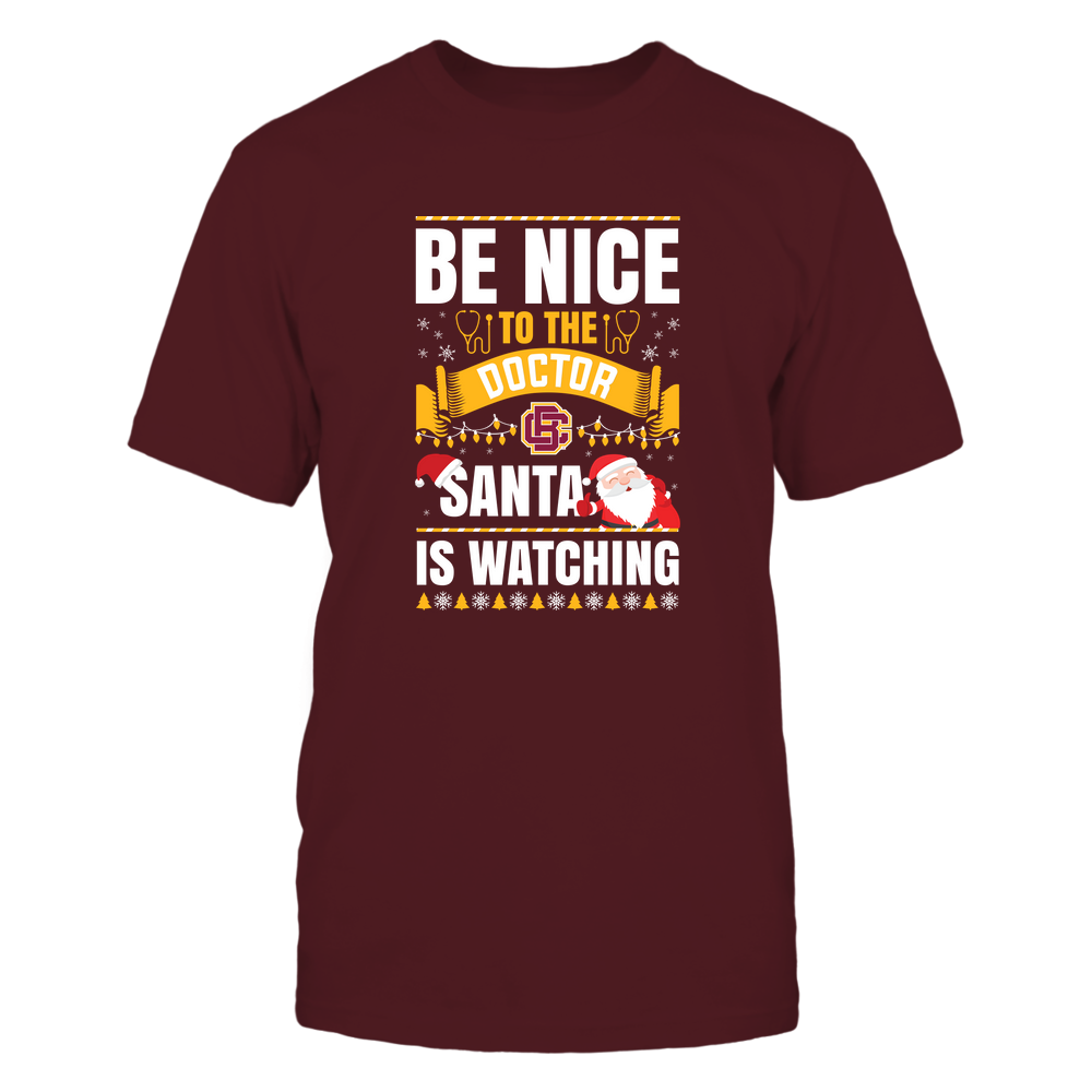 Bethune-Cookman Wildcats - Christmas - Be Nice To The Doctor - Santa Is Watching - Team Front picture