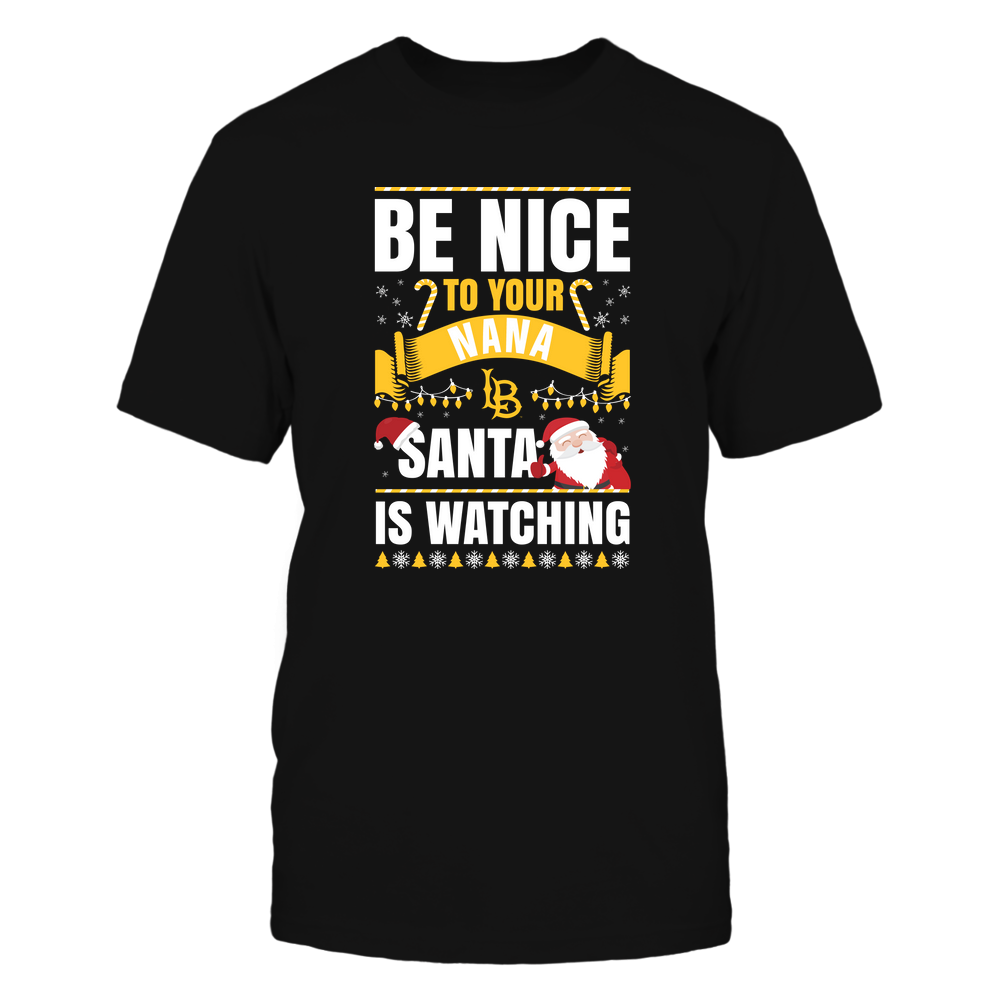 Long Beach State 49ers - Christmas - Be Nice To Your Nana - Santa Is Watching - Team Front picture