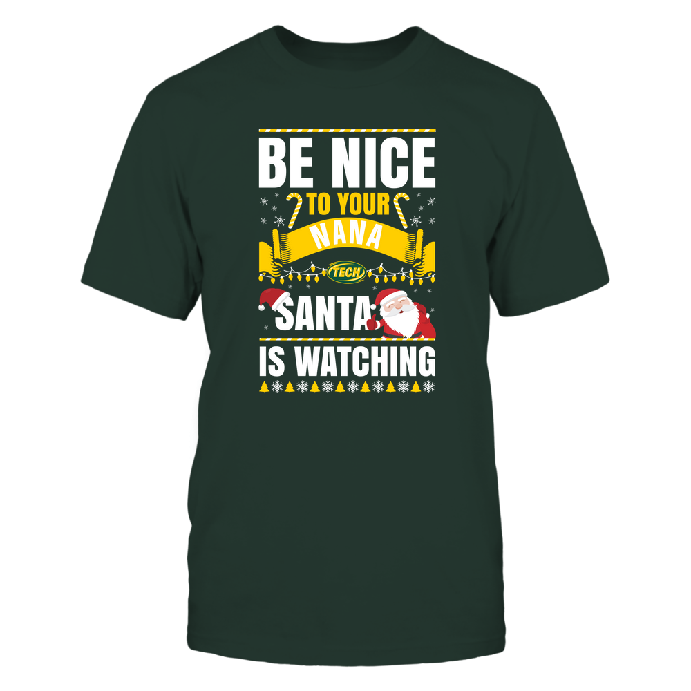 Arkansas Tech Golden Suns - Christmas - Be Nice To Your Nana - Santa Is Watching - Team Front picture
