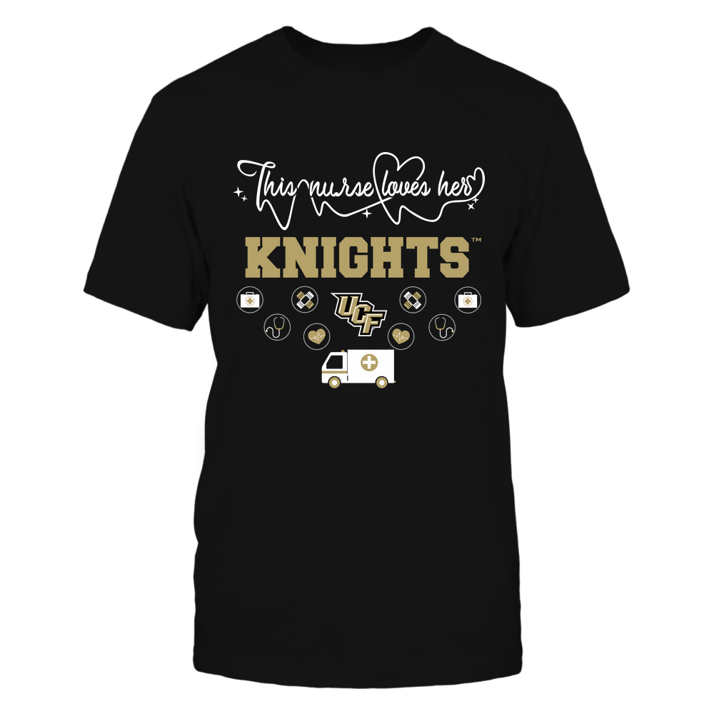 UCF Knights - Nurse Loves Team - Mascot Pattern - Team Front picture
