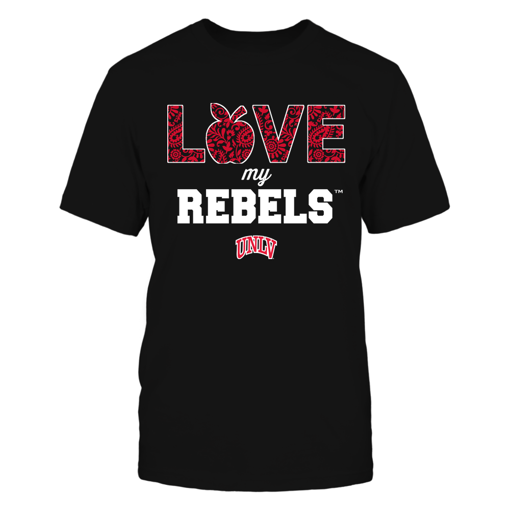 UNLV Rebels - Teacher - Love My Team - Paisley Pattern Front picture