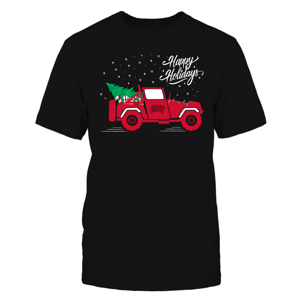 UNLV Rebels - Happy Holidays - Christmas Jeep Tree - Team Front picture