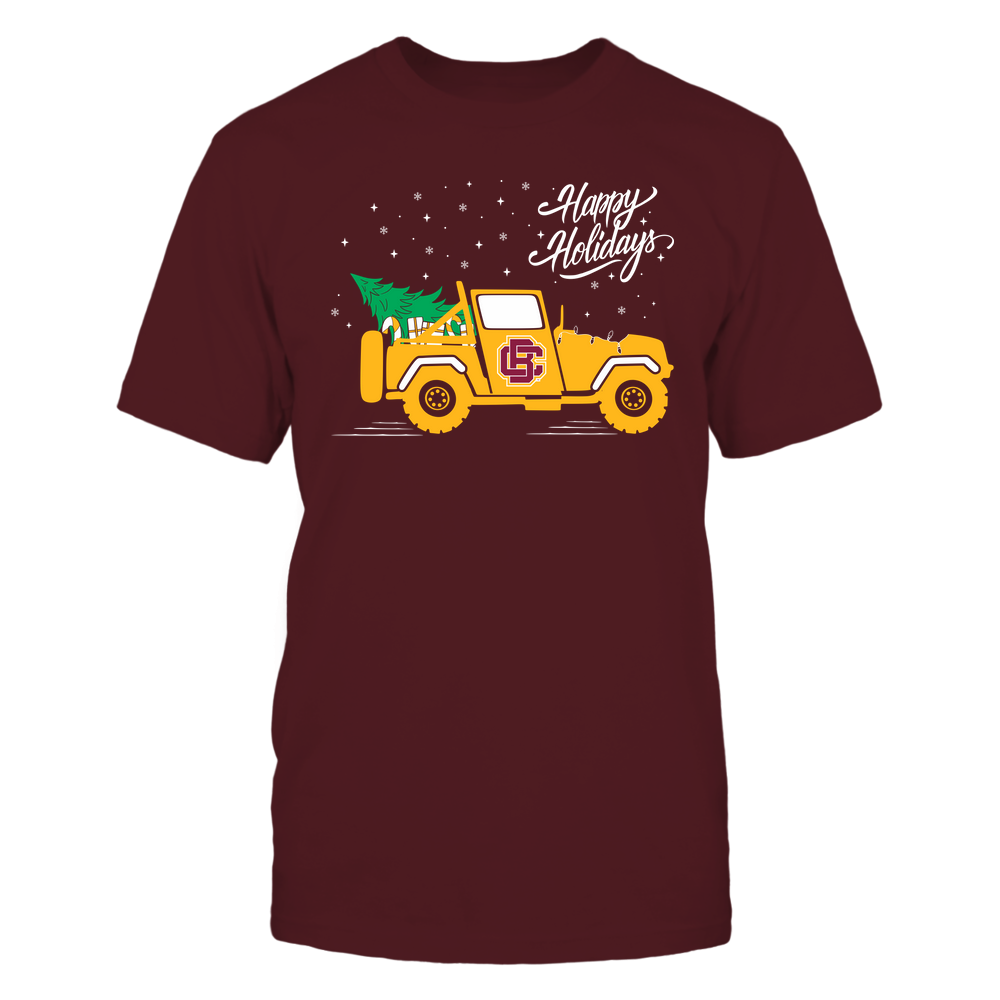 Bethune-Cookman Wildcats - Happy Holidays - Christmas Jeep Tree - Team Front picture