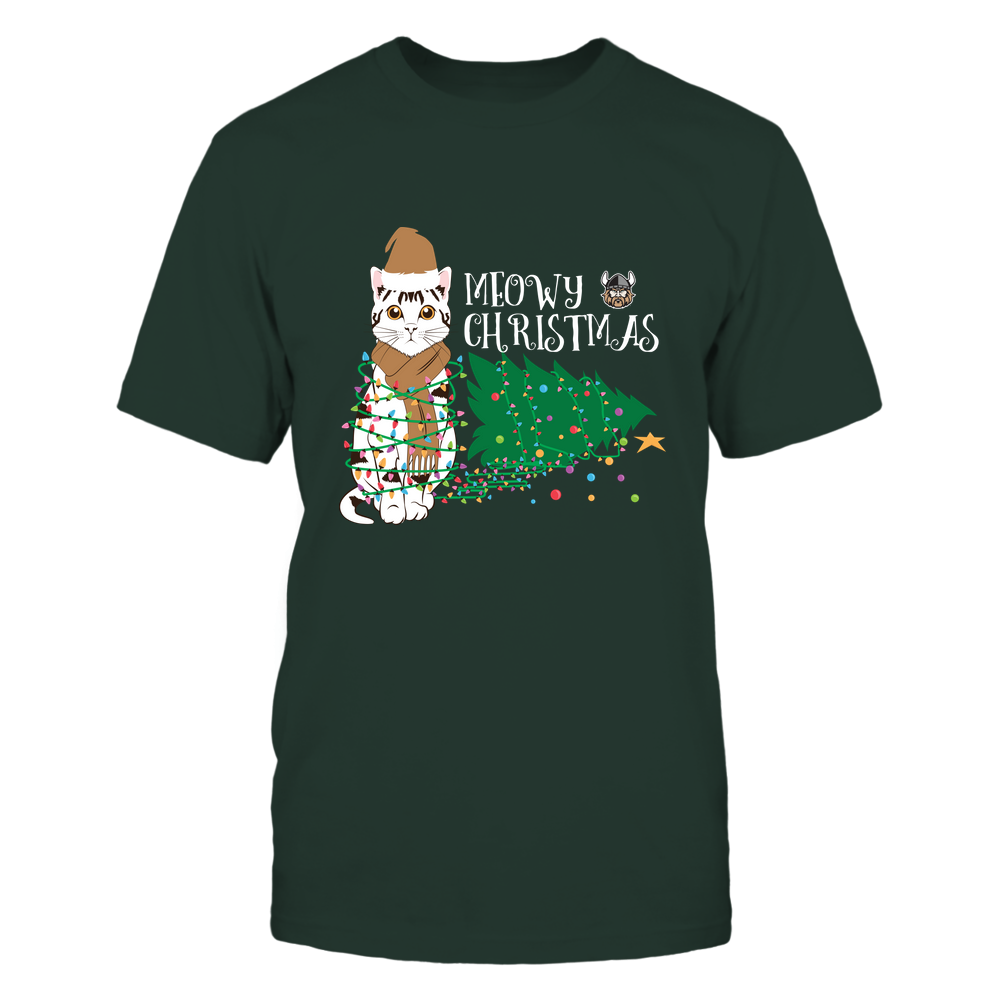 Cleveland State Vikings - Christmas ^ Cat Merry Christmas Tree ^ Team Front picture
