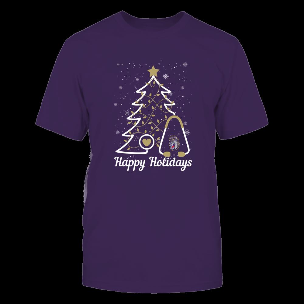 James Madison Dukes - Christmas - Christmas Tree Nurse - Happy Holidays Front picture