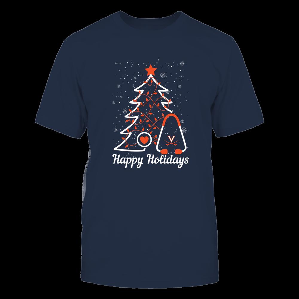 Virginia Cavaliers - Christmas - Christmas Tree Nurse - Happy Holidays Front picture