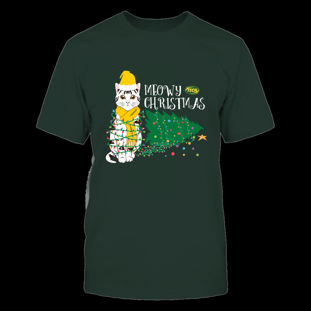 Arkansas Tech Golden Suns - Christmas ^ Cat Merry Christmas Tree ^ Team Front picture