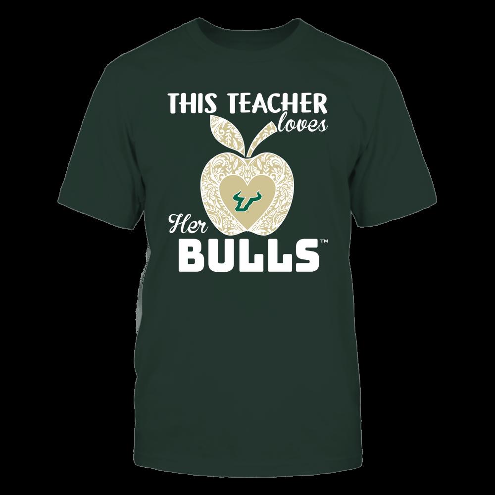 South Florida Bulls - Teacher Loves - Team - Apple - Lace Front picture
