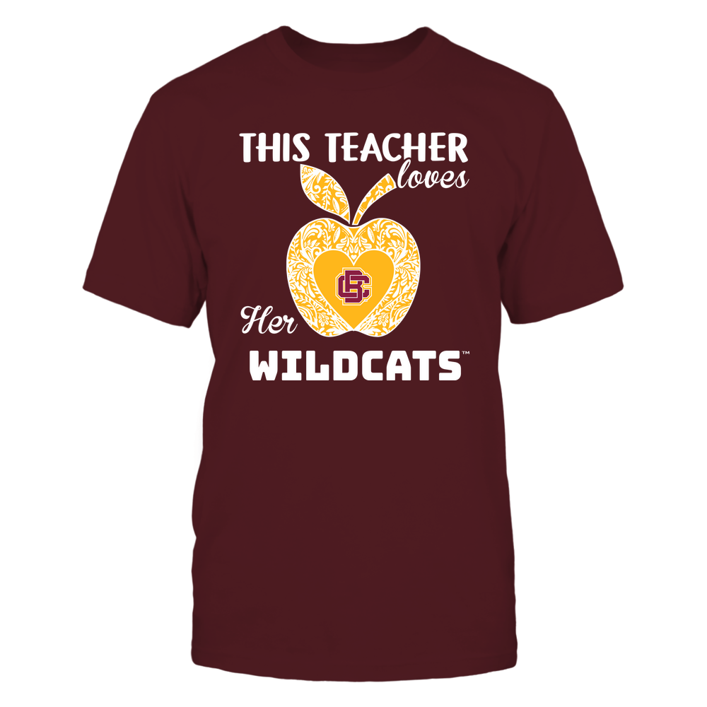 Bethune-Cookman Wildcats - Teacher Loves - Team - Apple - Lace Front picture