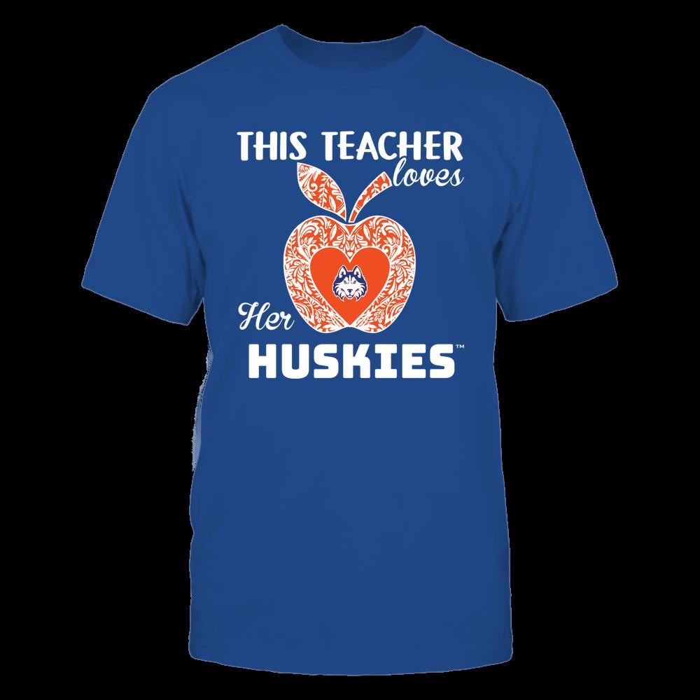 Houston Baptist Huskies - Teacher Loves - Team - Apple - Lace Front picture
