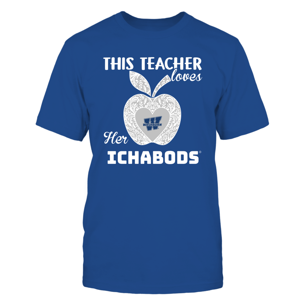 Washburn Ichabods - Teacher Loves - Team - Apple - Lace Front picture