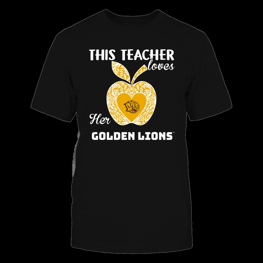 Arkansas Pine Bluff Golden Lions - Teacher Loves - Team - Apple - Lace Front picture