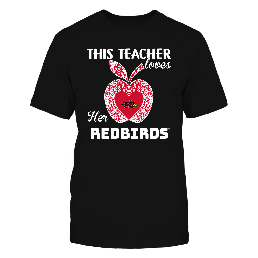 Illinois State Redbirds - Teacher Loves - Team - Apple - Lace Front picture