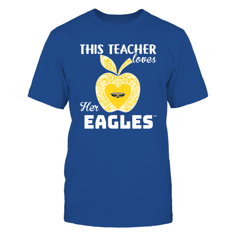 Morehead State Eagles - Teacher Loves - Team - Apple - Lace Front picture
